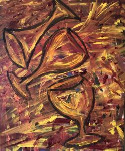 Liebestanz - Purzelnde Gläser