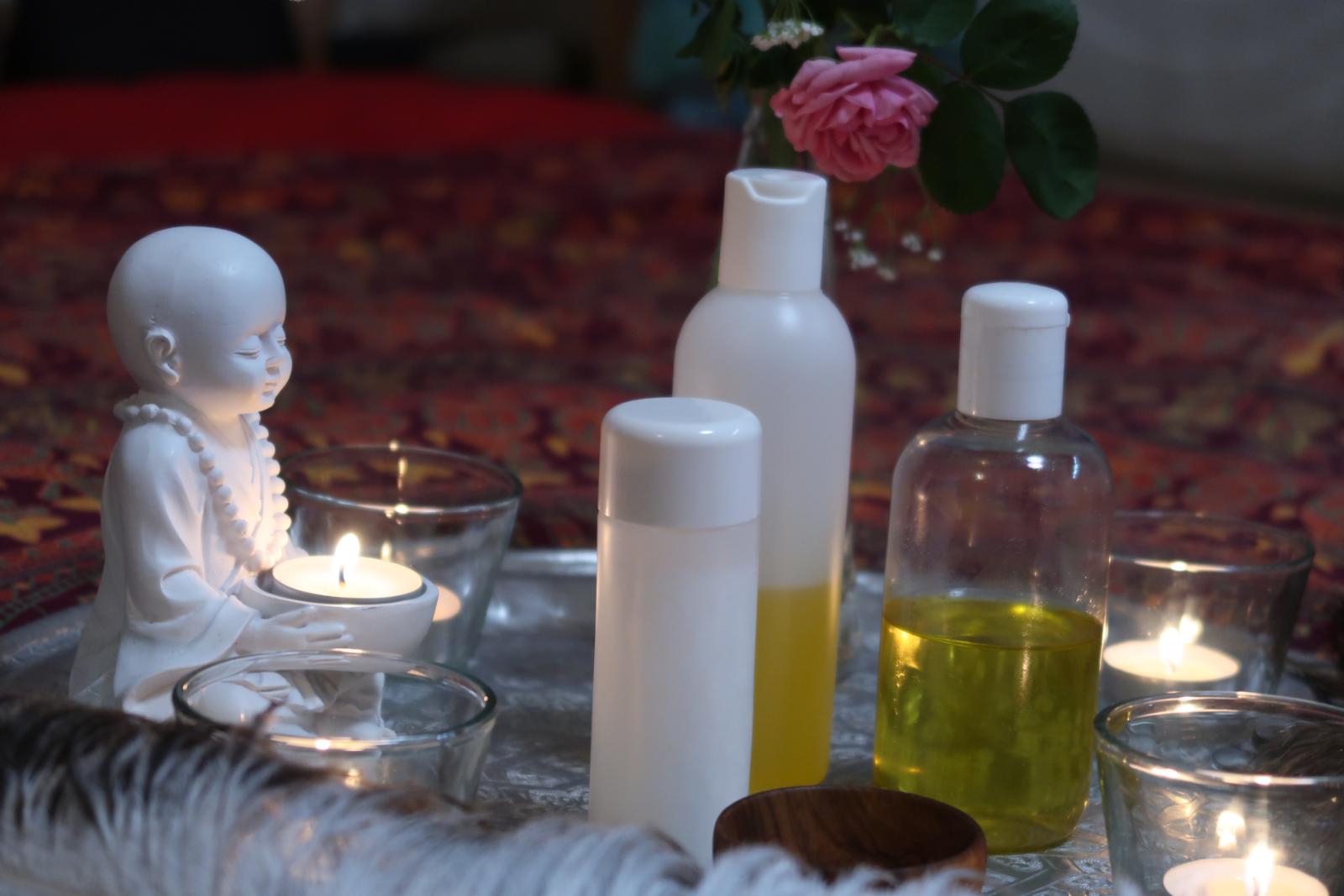 Liebestanz - Massage Utensilien